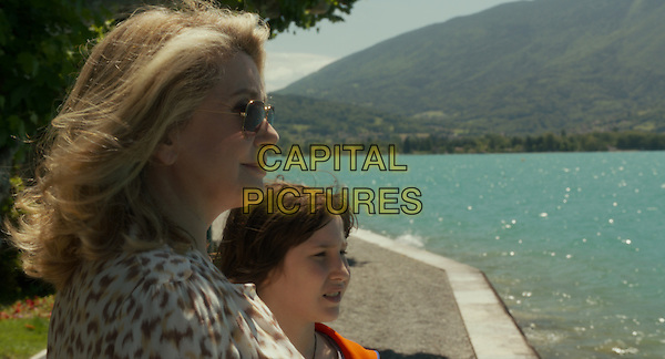 Catherine Deneuve, Nemo Schiffman<br /> in On My Way (2013) <br /> (Elle s'en va)<br /> *Filmstill - Editorial Use Only*<br /> CAP/NFS<br /> Image supplied by Capital Pictures