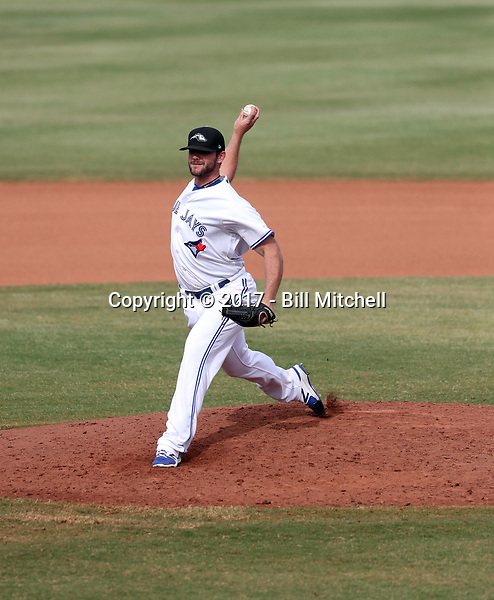 Jackson McClelland - Peoria Javelinas - 2017 Arizona Fall League (Bill Mitchell)