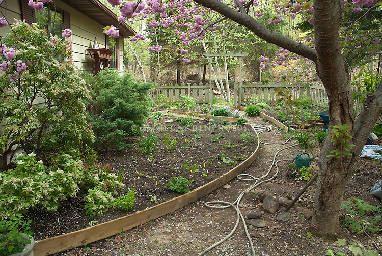 Building a new garden with raised beds plant flower - What to put under raised garden beds ...