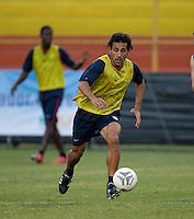 Pablo Mastroeni. Stadium Training prior to FIFA World Cup qualifiers USA vs El Salvador at Estadio Cuscatlán Stadium  on March 27, 2009.