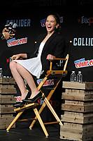 Cailee Spaeny beim Panel zu 'Pacific Rim: Uprising / Pacific Rim 2' auf der New York Comic Con 2017 im Javits Center. New York, 06-10.2017