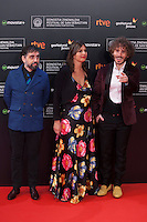 Ruben Ochandiano poses before 63rd Donostia Zinemaldia opening ceremony (San Sebastian International Film Festival) in San Sebastian, Spain. September 18, 2015. (ALTERPHOTOS/Victor Blanco) /NortePhoto.com
