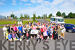 LINK BUS: Runing from the Aqua Dome car park on Saturday morning to raise funds for a new Kerry/Cork Link Bus Saturday.