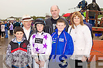 Enjoying the Asdee races last Sunday were Brendan Lyons(Listowel), Kevin McGuillicuddy(Glenbay), Gearoid Brouder(Listowel) and Mike, Mikey and Mary O'Donovan(Newmarket)