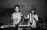 Students of the Music for Hope project rehearsing for a concert.<br />