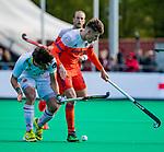 ROTTERDAM -  Jelle Galema (NED)    tijdens   de Pro League hockeywedstrijd heren, Nederland-Spanje (4-0) . COPYRIGHT KOEN SUYK