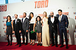 "XXX attends to the premiere of the spanish film ""Toro"" at Kinepolis Cinemas in Madrid. April 20, 2016. (ALTERPHOTOS/Borja B.Hojas)"