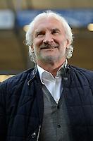 FUSSBALL   1. BUNDESLIGA   SAISON 2012/2013    29. SPIELTAG FC Schalke 04 - Bayer 04 Leverkusen                        13.04.2013 Rudi Voeller (Bayer 04 Leverkusen)