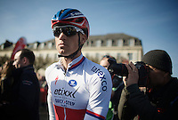 Zdenek Stybar (CZE/Etixx-QuickStep) at the start<br /> <br /> 113th Paris-Roubaix 2015