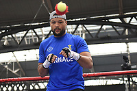 Joe Joyce during a Public Workout at Old Spitalfields Market on 9th July 2019