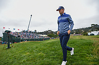 Bernd Wiesberger (AUT) heads to the tee on 18 during round 4 of the 2019 US Open, Pebble Beach Golf Links, Monterrey, California, USA. 6/16/2019.<br /> Picture: Golffile | Ken Murray<br /> <br /> All photo usage must carry mandatory copyright credit (© Golffile | Ken Murray)