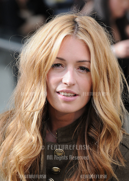Cat Deeley arrives for the Burberry fashion show as part of London Fashion Week at the Chelsea College of Art and Design, London.  22/09/2010  Picture by: Simon Burchell / Featureflash