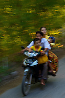 On the road to Mandalay Hill Mandalay, Myanmar