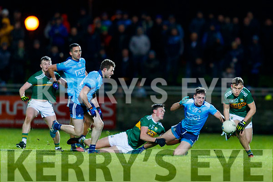 Dara Moynihan Kerry in action against  Brian Howard Dublin during the Allianz Football League Division 1 Round 3 match between Kerry and Dublin at Austin Stack Park in Tralee, Kerry on Saturday night.