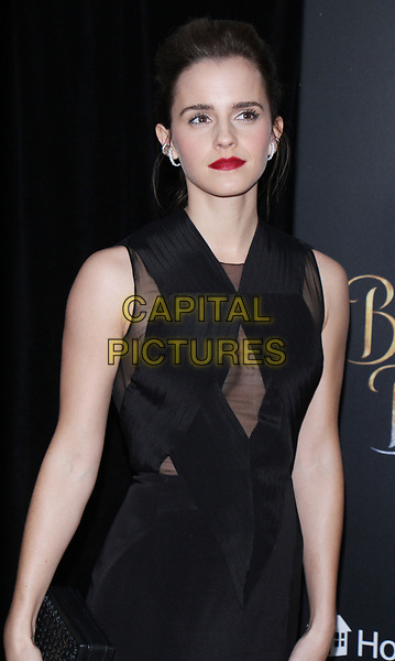 NEW YORK, NY March  13, 2017 Emma Watson attendsWalt Disney Pictures present a special screening of Beauty &amp; the Beast at Alice Tully Hall Lincoln Center in New York March 13 , 2017. <br /> CAP/MPI/RW<br /> &copy;RW/MPI/Capital Pictures