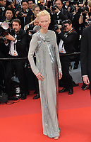 """CANNES, FRANCE. May 14, 2019: Tilda Swinton at the gala premiere for """"The Dead Don't Die"""" at the Festival de Cannes.<br /> Picture: Paul Smith / Featureflash"""