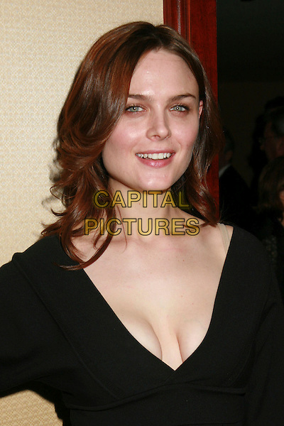 EMILY DESCHANEL.20th Annual American Society of Cinematographers Outstanding Achievment Awards - Arrivals - Century City, California, USA..February 26th, 2006.Photo: Byron Purvis/AdMedia/Capital Pictures.Ref: BP/ADM.headshot porrtait cleavage.www.capitalpictures.com.sales@capitalpictures.com.© Capital Pictures.