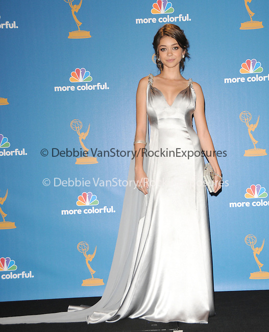 Sarah Hyland at The 62nd Anual Primetime Emmy Awards held at Nokia Theatre L.A. Live in Los Angeles, California on August 29,2010                                                                   Copyright 2010  DVS / RockinExposures