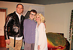 "- Guiding Light's Mandy Bruno and Robert Bogue and Kelly Krieger star in Lilttle Shop of Horrors The Musical on May 27, 2018 presented by CaPAA at the Ritz Theater in Scranton, PA. Mandy is ""Audrey"", Robert is ""Orian, Berstein, Luce, Snip, Martin"" and Kelly is ""Seymour"". Mandy is  also the director, set designer, video projection production, props and costumes. Also their children Zeb (15), Zoe (13) and Flynn (6) were at this show and many others. (Photo by Sue Coflin/Max Photo)"