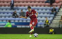 Pedro Chirivella of Liverpool during the pre season friendly match between Wigan Athletic and Liverpool at the DW Stadium, Wigan, England on 14 July 2017. Photo by Andy Rowland.