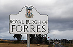 Rangers on tour as they visit Forres in the second round of the Scottish Cup
