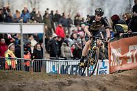 Corne Van Kessel (NED/Telenet Baloise Lions)<br /> <br /> Elite Men's Race<br /> UCI cyclocross WorldCup - Koksijde (Belgium)<br /> <br /> ©kramon