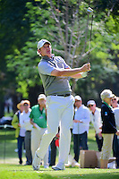 Brandt Snedeker (USA) watches his tee shot on 7 during round 2 of the World Golf Championships, Mexico, Club De Golf Chapultepec, Mexico City, Mexico. 3/3/2017.<br /> Picture: Golffile | Ken Murray<br /> <br /> <br /> All photo usage must carry mandatory copyright credit (&copy; Golffile | Ken Murray)