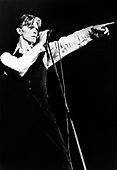 DAVID BOWIE - performing live on the Isolar - 1976 Tour aka Thin White Duke Tour or the Station To Station Tour - 1976.  Photo credit: MM Media/IconicPix