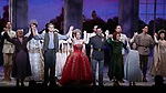 "Judy Kaye, Christy Altomare, Max von Essen and Vicki Lewis with Cody Simpson making his Broadway Debut Bows in ""Anastasia"" at the Broadhurst Theatre on November 29, 2018 in New York City."