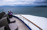 Silver Muse cruise ship at CentrePort in Wellington, New Zealand on Wednesay, 29 January 2020. Photo: Dave Lintott / lintottphoto.co.nz