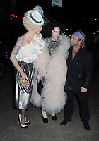 06 April 2019 - New York, New York - Suzanne Bartsch (center) and guests arriving for the Wedding Reception of Marc Jacobs and Char Defrancesco, held at The Pool.<br /> CAP/ADM/LJ<br /> ©LJ/ADM/Capital Pictures