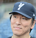 Hideki Matsui,<br /> JULY 6, 2013 - Baseball :<br /> Former New York Yankee Hideki Matsui throws batting practice for the Staten Island Yankees at Richmond County Bank Ballpark in Staten Island, New York, United States. (Photo by AFLO)