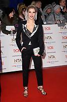Pips Taylor<br /> arriving for the National TV Awards 2019 at the O2 Arena, London<br /> <br /> ©Ash Knotek  D3473  22/01/2019