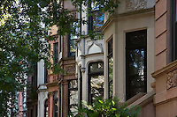 Exteriors of BROWNSTONES - PARK SLOPE - BROOKLYN - NEW YORK CITY