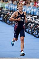 Chelsea Burns of  United States of America  during the 2017 Madrid ITU Triathlon World Cup in Madrid, May 28, 2017. Spain.. (ALTERPHOTOS/Rodrigo Jimenez) /NortePhoto.com