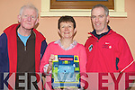 DEFIBRILLATOR: PJ Higgins, Kathleen Poff and Maurice Hannifin who will be organising the Annual St Pats table Quiz in the Windmill, Blennerville on Good Friday night to raise fund to purchase a new defibrillator for the community of Blennerville..