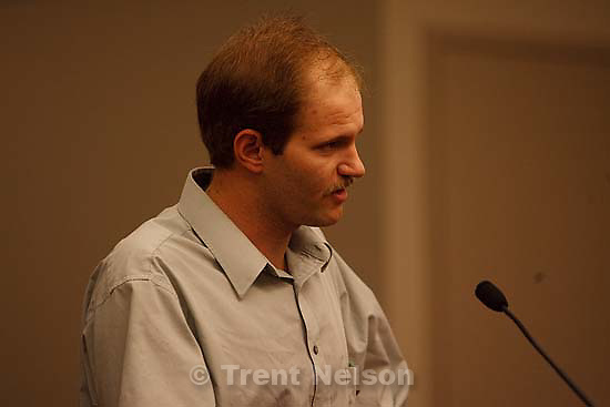 Salt Lake City -  hearing held in the Matheson Courthouse Wednesday, July 29, 2009 to decide on the sale of the Berry Knoll property in the United Effort Plan (UEP) land trust..richard ream