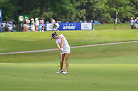 Sandra Gal (DEU) hits her approach shot on 10 during round 1 of the 2018 KPMG Women's PGA Championship, Kemper Lakes Golf Club, at Kildeer, Illinois, USA. 6/28/2018.<br /> Picture: Golffile | Ken Murray<br /> <br /> All photo usage must carry mandatory copyright credit (&copy; Golffile | Ken Murray)