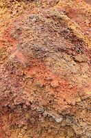 Lavagestein, Lava, Lava-Gestein, unterschiedlich gefärbte Lava am Ätna, Etna, Vulkan, Italien, Sizilien, Mount Etna, volcano
