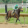 Winning Touch winning at Delaware Park on 8/23/14