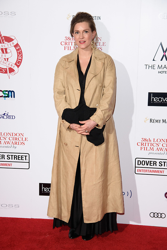 arriving for the Critic's Circle Film Awards 2018, Mayfair Hotel, London<br /> <br /> <br /> ©Ash Knotek  D3374  28/01/2018