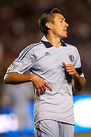 Sporting Kansas City midfielder Davy Arnaud (22). Sporting KC defeated CD Chivas USA 3-2 at Home Depot Center stadium in Carson, California on Saturday March 19, 2011...
