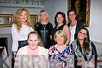 Enjoying womans little Christmas last Sunday night in Cassidy's,Tralee were Tralee ladies (front) L-R Lillian O'Connor,Margaret Howard&Niomi Reidy (back) L-R Grainne & Bridie Howard,Geraldine Counihan with Francis Reidy.
