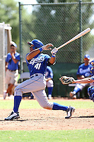 Jose Bonilla - Kansas City Royals - 2010 Instructional League.Photo by:  Bill Mitchell/Four Seam Images..