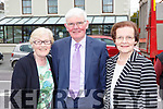 Josephine O'Shea, Patrick Buckley and Mary Doran at the Patrick O'Connor memorial plaque ceremony in Rathmore on Sunday