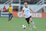 10 November 2013: Becky Sauerbrunn (USA). The United States Women's National Team played the Brazil Women's National Team at the Citrus Bowl in Orlando, Florida in an international friendly soccer match. The U.S. won the match 4-1.