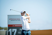 Bernd Wiesberger (AUT) during the 1st round of the AfrAsia Bank Mauritius Open, Four Seasons Golf Club Mauritius at Anahita, Beau Champ, Mauritius. 29/11/2018<br /> Picture: Golffile | Mark Sampson<br /> <br /> <br /> All photo usage must carry mandatory copyright credit (&copy; Golffile | Mark Sampson)