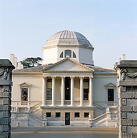 The classical perfection of this Palladian villa was designed by Lord Burlington in the late 1720s