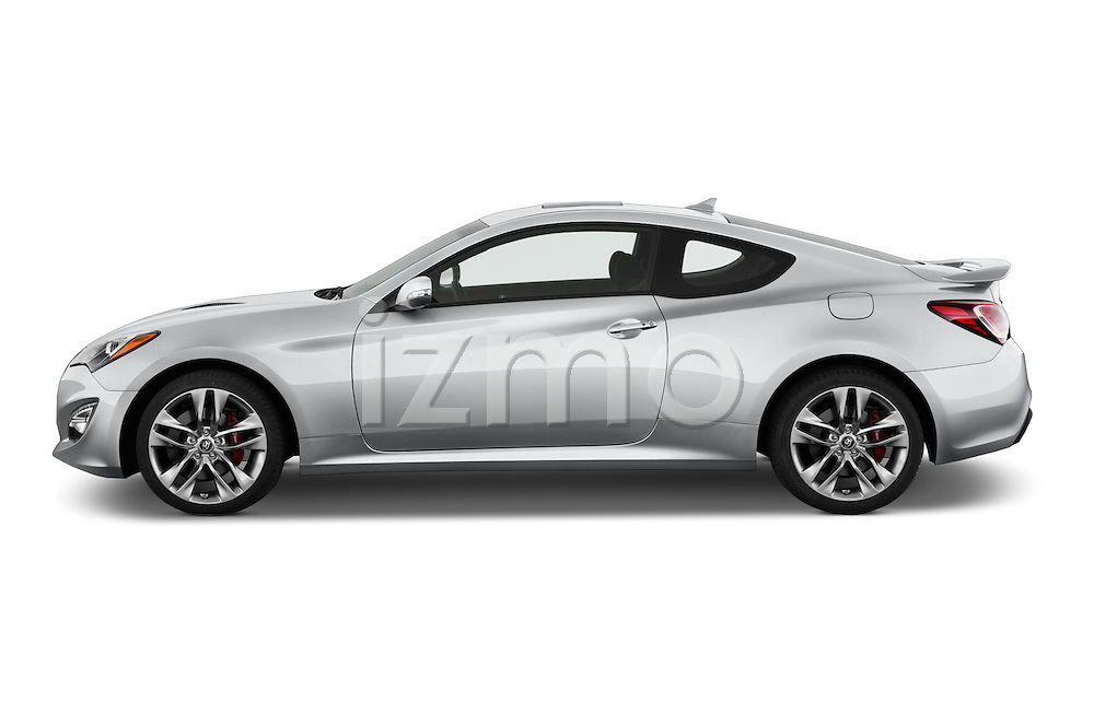 2015 Hyundai Genesis Coupe 3.8T 8-Sd A/T 2 Door Coupe 2WD Side ...