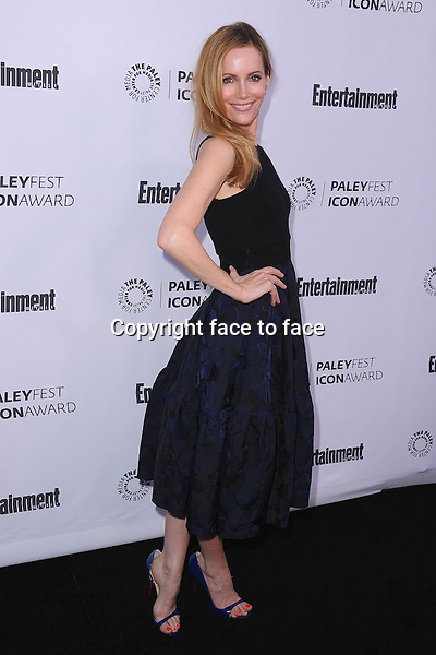 BEVERLY HILLS, CA - MARCH 10:  Leslie Mann arrives at the 2014 PaleyFest Icon Award to Judd_Apatow at the Paley Center for the Media on March 10, 2014 in Beverly Hills, California.<br /> Credit: MediaPunch/face to face<br /> - Germany, Austria, Switzerland, Eastern Europe, Australia, UK, USA, Taiwan, Singapore, China, Malaysia, Thailand, Sweden, Estonia, Latvia and Lithuania rights only -